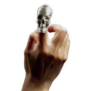 Katrine Borup 'Memento Mori' 2004 Rings - silver