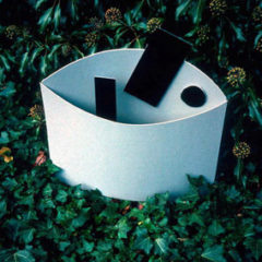 5.31 'Model (for sculpture)' 1986. card